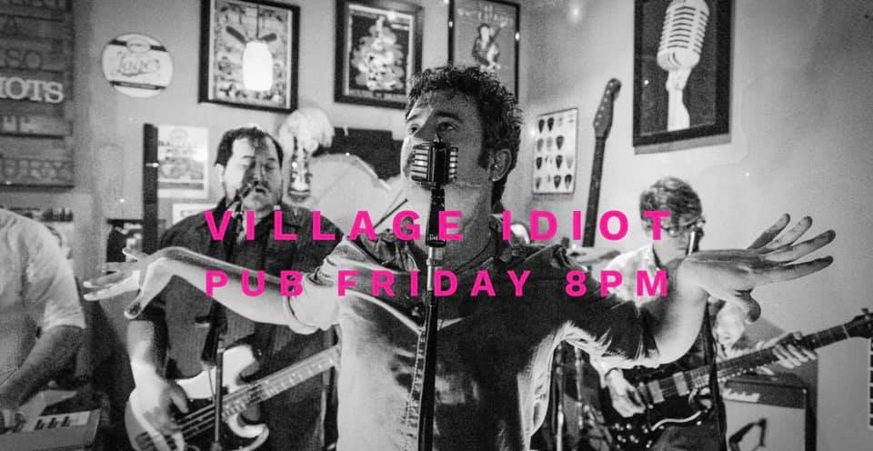Hot Pink Playing at Village Idiot Pub Friday