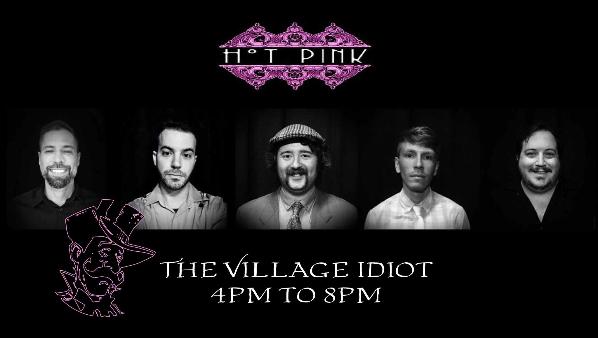 Hot Pink Performing 4pm to 8pm September 29 2019 at Village Idiot Pub