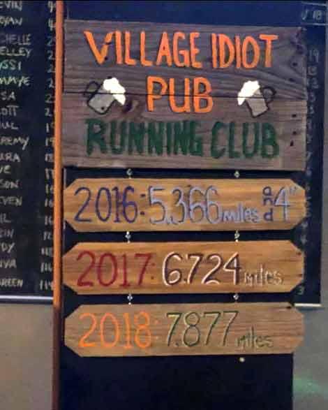 Village Idiot Pub Weekly Run Club Cocoa Village Florida