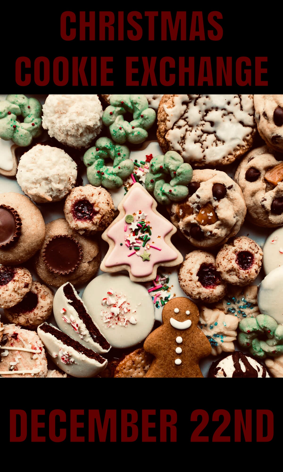 Christmas Cookie Exchange December 22