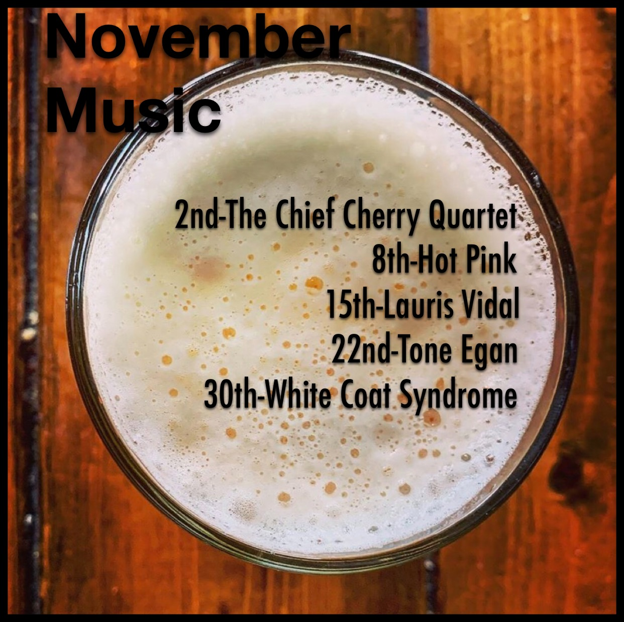 November Music at the Village Idiot in Cocoa Florida
